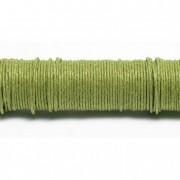 Drót papírborítású fém 0,80mmx22m 50 g zöld