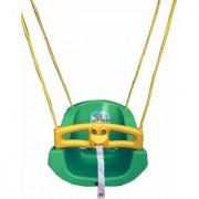 suraj baby green color heavy plastic swing(jhula) for your kids se-sj-09