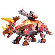Juguete Educativo Puzzle 3D - Serie de dinosaurios triceratops