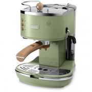 Espressor Delonghi Icona Vintage ECOV310.GR, 1100W, 1.4l, 15 bari, Verde