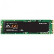 Твърд диск ssd samsung 860 evo series, 2 tb 3d v-nand flash, m.2, mz-n6e2t0bw