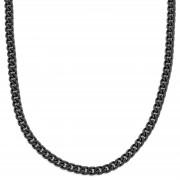 Fort Tempus Schwarze Ketten Halskette 8mm