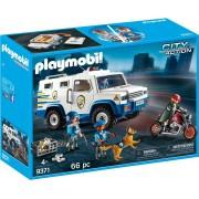 Playmobil City Action, Masina de politie blindata
