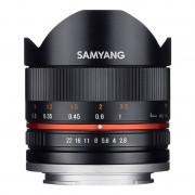 Samyang Objetivo Fisheye II 8mm F2.8 UMC para Fujifilm X