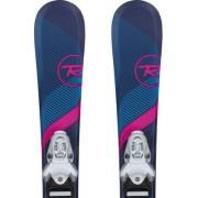 Rossignol Experience Pro W Kids Skis + Team 4 Bindinger (Blå)
