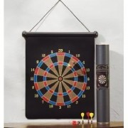 Toy / Game Furniture Creations Magnetic Dart Board W/ A Wide Variety Of Fun Games Of Skill (Ages 6 Years & Up)