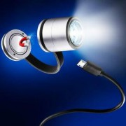 Troika Eco Run Taschenlampe, Lauflampe, LED-Safety Light, magnetische Ansteckleuchte