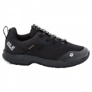 Jack Wolfskin Phoenix Texapore Low G - black - Chaussures de Tennis UK 40