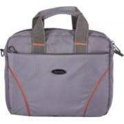 Bendly 13 inch Laptop Messenger Bag(Grey)