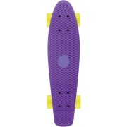 Skateboard Osprey/Xootz single paars 56 cm/ABEC5