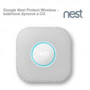 Google Nest Protect Wireless - batériové dymové a CO čidlo