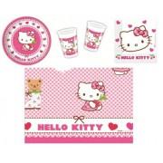 Hello Kitty Heary Party Set Hello Kitty Hearts For 8 People