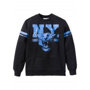 bpc bonprix collection Sweatshirt med collegetryck