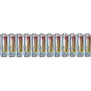 Set 12 baterii alcaline AA, 1,5 V, Conrad energy
