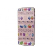 KUNFT Carcasa iPhone SE, 5, 5s KUNFT Easter Eggs Multicolor