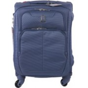 Delsey X'pert Lite Expandable Cabin Luggage - 21 inch(Blue)
