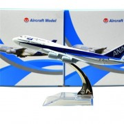 Japan All Nippon Boeing 747 16cm Metal Airplane Models Child Birthday Gift Plane Models Home Decoration