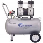Compresor Ultra Silencioso 2 Hp Tanque 15Gal Sin Aceite Goni