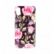 BasicsMobile Roses Of Butterflies iPhone X/XS iPhone X/XS Skal