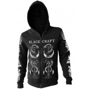 kapucnis pulóver férfi - The Craft - BLACK CRAFT - HS032TC
