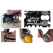 Right Traders Wallet Ninja 18 Multi-utility Knife (Black)