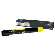 Lexmark Originale C 950 DE Toner (C950X2YG) giallo, 22,000 pagine, 1.38 cent per pagina - sostituito Toner C950X2YG per C 950DE