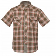 Camisa Niño Mountain Towns Short Sleeve Shirt Lippi Verde / Crema
