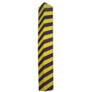 Černo-žlutý pěnový roh na ochranu stěn - délka 120 cm a šířka 12,5 cm