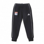 adidas Pantalon détente molleton noir Junior OL adidas 19-20 - 15-16A OL - Foot Lyon