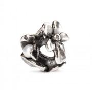 Trollbeads TAGBE-00028 Kraal Februariviooltje zilver