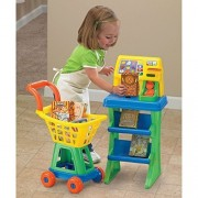 American Plastic Toys My Very Own Shop N Pay Market Set, Colors May Vary by American Plastic Toys