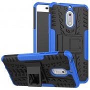 Capa Híbrida Antiderrapante para Nokia 6 - Azul / Preto
