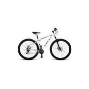 Bicicleta Colli Mtb High Performance Branco Aro 29 Alum. Kit Shimano 21M Susp. Dianteira Freios A Disco