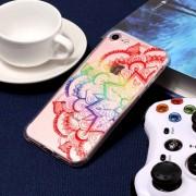 Para IPhone 8 Y 7 Colorful Mandala Patron TPU Protector Caso