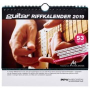 PPV Medien Guitar Riffkalender 2019