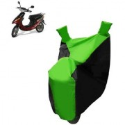 AutoAge Two Wheeler Green Colour Cover for Yo Bike Yo Electron