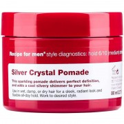 Recipe For Men Silver Crystal Pomade (80ml)
