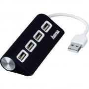 4-portni USB 2.0 hub 12177 Hama crna
