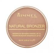 Rimmel London Natural Bronzer Waterproof Bronzing Powder Spf15 026 Sun Kissed 14G Per Donna (Cosmetic)
