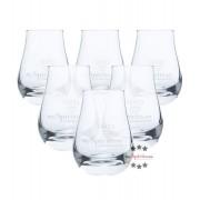 mySpirits 6 x mySpirits Schnapsglas - kleines Nosing Glas