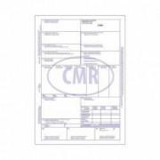 CMR International Format A4 4 Exemplare 50 Seturi pe Carnet - Scrisoare de Transport si Formular Marfa
