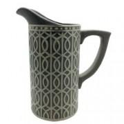 Vaza carafa ceramica gri 2L 25cm