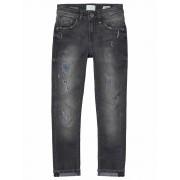 Vingino! Jongens Lange Broek - Maat 164 - Donkergrijs - Jeans