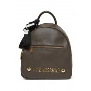 LOVE Moschino Soft Grain Backpack TAUPE