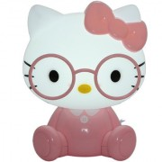 Zahab Pink Hello Kitty Cartoon Led Desk Lamp/Table Lamp/Night Light for Kids Reading Study in Living Room Bedroom