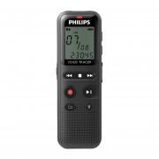 Grabadora Voz Philips DVT1150 USB Negro