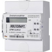 Contor curent trifazic cu montare pe sina DIN Voltcraft DPM 3L85-D