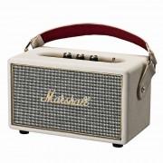 Marshall Kilburn Cream - безжичен портативен аудиофилски спийкър за iPhone, iPod и iPad и мобилни устройства с Bluetooth и 3.5 mm изход (кремав)