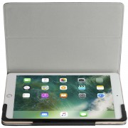 Krusell Ekero Tablet Case - кожен кейс и поставка за iPad (2017) (черен)