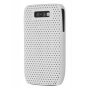 Slim Mesh Case for Nokia E63 - Nokia Hard Case (Pearl White)